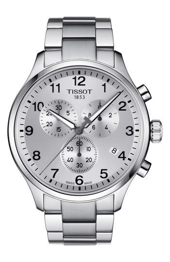 Men's Tissot T-sport Chronograph Bracelet Watch, 45mm