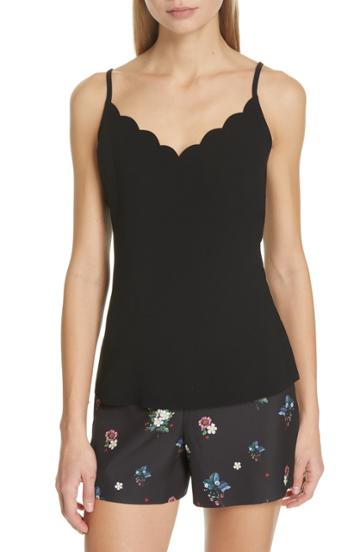 Women's Ted Baker London Siina Scallop Camisole - Black