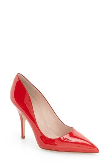 Women's Kate Spade New York 'licorice Too' Pump M - Red