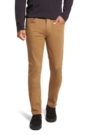 Men's Paige Transcend - Normandie Straight Leg Jeans - Beige