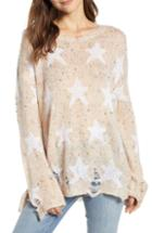 Women's Wildfox Seeing Stars Lennon Sweater - Ivory