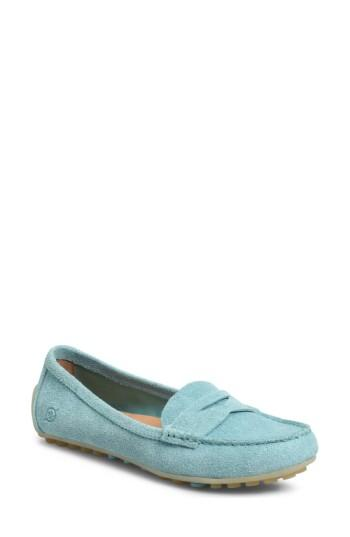 Women's B?rn Malena Driving Loafer M - Blue/green