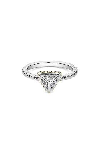 Women's Lagos Diamond Pyramid Ring