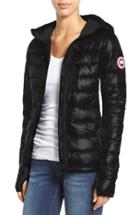 Women's Canada Goose 'hybridge Lite' Slim Fit Hooded Packable Down Jacket, Size - (online Only)