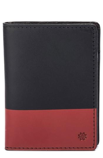 Men's Hook + Albert Leather Wallet - Red