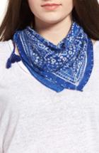 Women's Rebecca Minkoff Print Bandana, Size - Blue