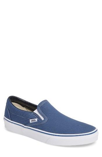 Men's Vans Classic Slip-on M - Blue
