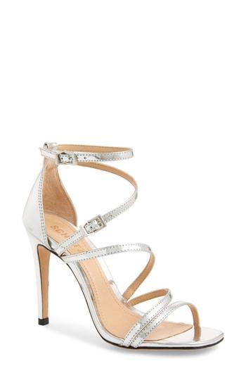 Women's Schutz Licah Sandal M - Metallic