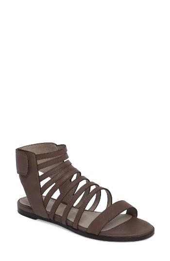 Women's Eileen Fisher Otto Strappy Sandal M - Grey
