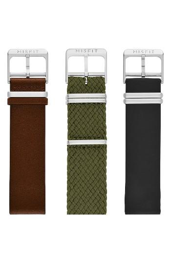 Women's Misfit Phase Three-pack 20mm Watch Straps