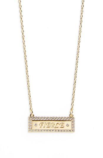Women's Lulu Dk Bar Necklace