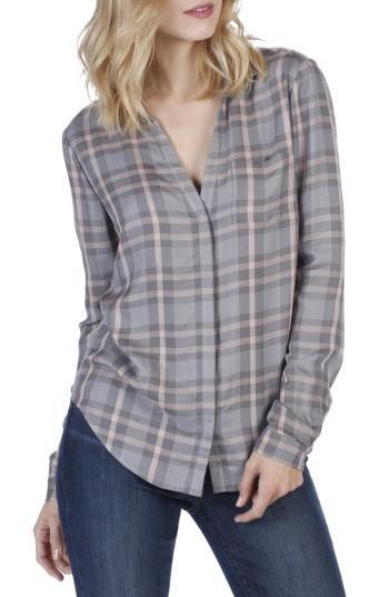 Women's Paige Everleigh Plaid Shirt - Blue