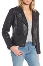 Women's Bb Dakota Dominic Leather Moto Jacket