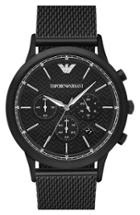 Men's Emporio Armani Chronograph Mesh Strap Watch, 43mm