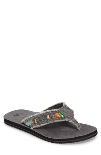 Men's Sanuk Fraid So Flip Flop