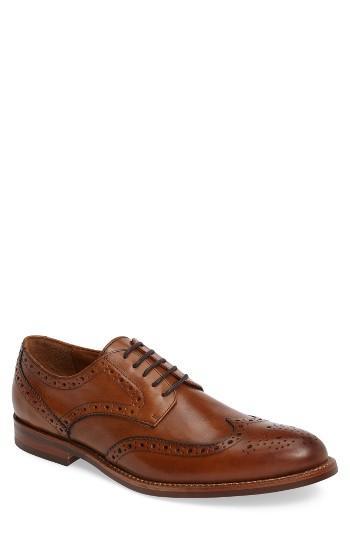 Men's Gordon Rush Kinsley Wingtip .5 M - Brown