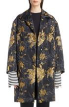 Women's Dries Van Noten Peacock 3d Jacquard Jacket