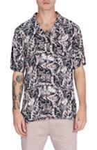 Men's Zanerobe Fern Box Shirt - Black