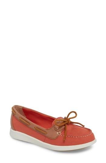 Women's Sperry Oasis Boat Shoe .5 M - Red