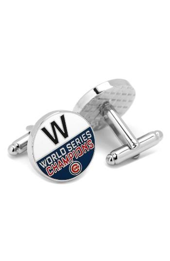Men's Cufflinks, Inc. Cubs World Series Cuff Links