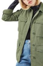 Women's Topshop Ethan Shirt Jacket