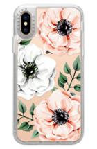Casetify Watercolor Anemones Iphone X/xs/xs Max & Xr Case - Pink
