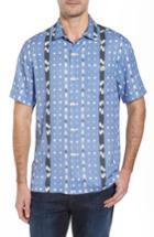 Men's Tommy Bahama Ikat Don't Stop Silk Blend Camp Shirt