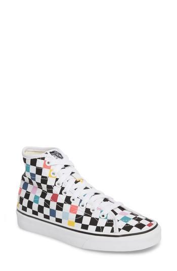 Women's Vans 'sk8-hi Decon' Sneaker M - White