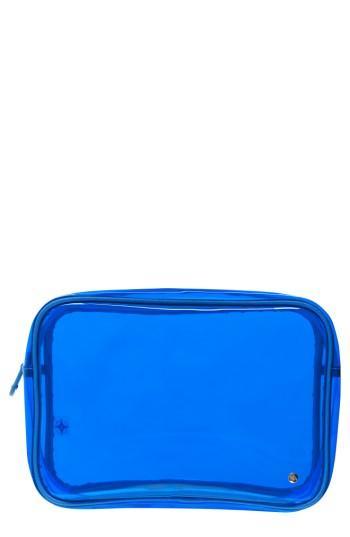 Stephanie Johnson Miami Jumbo Zip Cosmetics Case, Size - Miami Cobalt