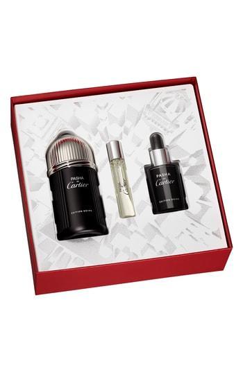 Cartier Pasha De Cartier Edition Noire Eau De Toilette Set ($140 Value)