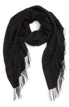 Women's Nordstrom Metallic Wool Blend Scarf