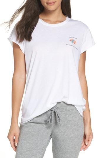 Women's The Laundry Room Lil' Sushi Roll Hem Tee /small - White
