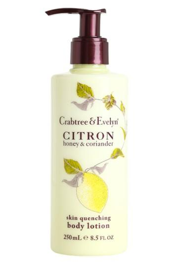 Crabtree & Evelyn 'citron, Honey & Coriander' Skin Quenching Body Lotion .5 Oz