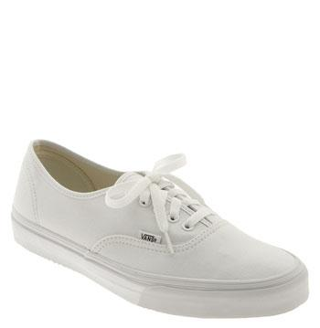 Men's Vans 'authentic' Sneaker M - White