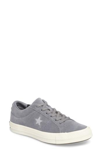 Women's Converse Chuck Taylor All Star One Star Low-top Sneaker M - Grey