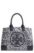 Tory Burch Ella Print Coated Nylon Tote - Blue