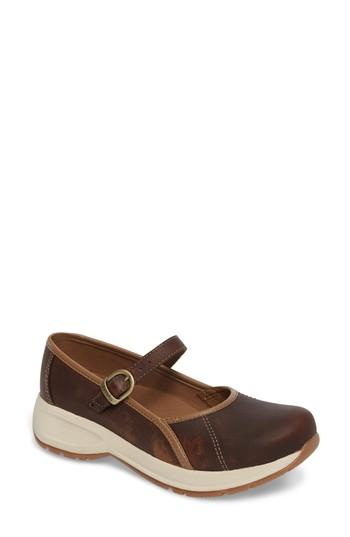 Women's Dansko Steffi Mary Jane .5-6us / 36eu M - Brown