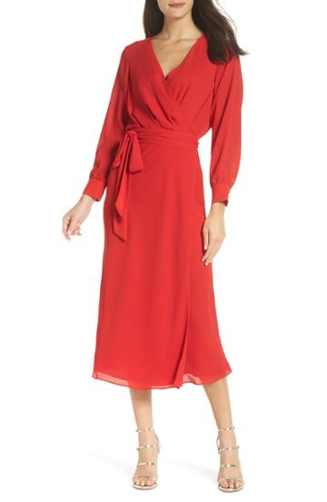 Women's Fame And Partners Sienne Fit & Flare Dress