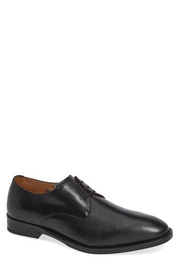 Men's Vince Camuto Hasper Plain Toe Derby M - Black