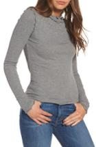Women's Hinge Long Sleeve Ruffle Tee