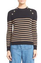 Women's Belstaff Suzy Wool Blend Button Shoulder Sweater