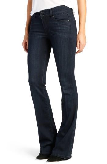 Women's Paige Transcend - Hidden Hills High Waist Bootcut Jeans - Blue