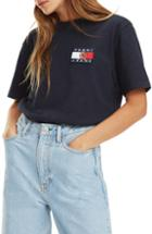 Women's Tommy Jeans Crest Capsule Flag Tee - Blue