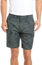 Men's Bonobos Parker Print Linen Blend Shorts