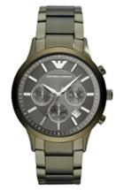 Men's Emporio Armani Chronograph Bracelet Watch, 43mm