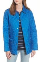Women's Barbour 'beadnell - Summer' Quilted Jacket - Blue