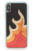 Zero Gravity Burn Iphone X Case - Red
