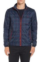Men's Original Penguin Plaid Print Zip Jacket