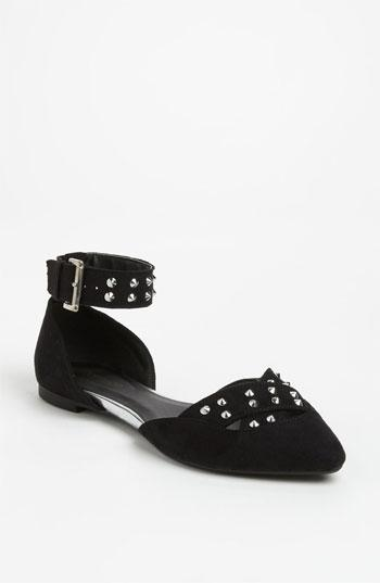 Topshop 'harriet' Flat Black 7.5 M