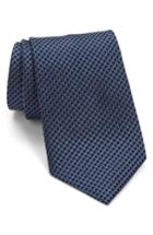 Men's John Varvatos Star Usa Check Silk Tie, Size - Blue
